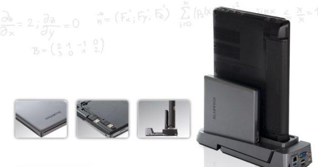 GIGABYTE actualiza su línea de portátiles híbridos con el modelo T1132 31