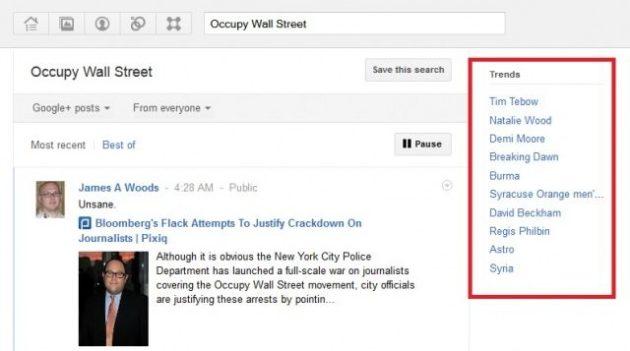 Google+ ya tiene sus propios trending topics 31