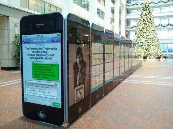 Exposición de las más de 300 patentes de Steve Jobs