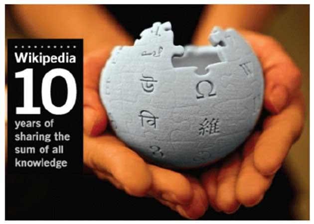 El co-fundador de Google dona medio millón de dólares a Wikipedia