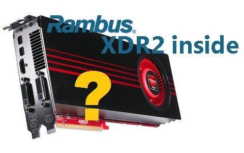La próxima Radeon HD 7900 podría utilizar memoria Rambus XDR2