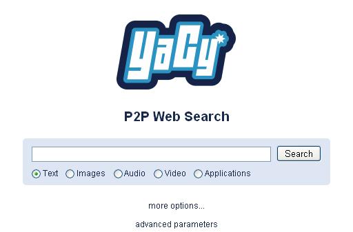 YaCy, un buscador web abierto descentralizado -P2P-
