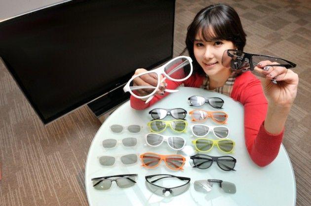 LG estiliza las gafas 3D de la mano de Alain Mikli