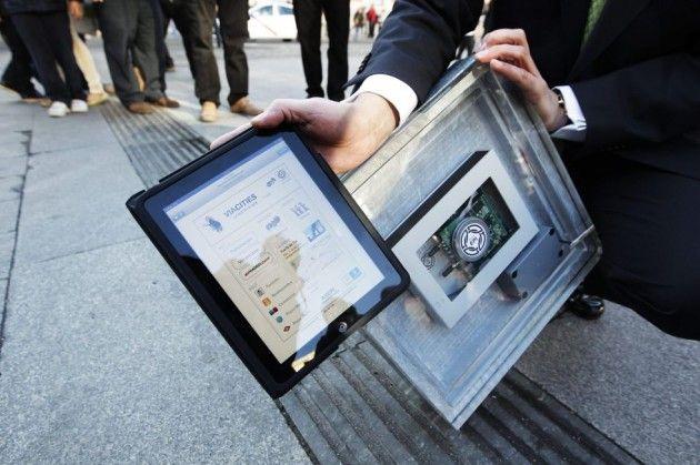 La Puerta del Sol con conectividad Wi-Fi gratuita vía baldosas inteligentes