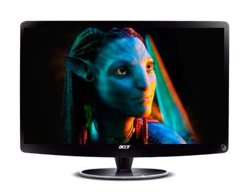 Acer HR274H , monitor HD con soporte para contenido 3D 30