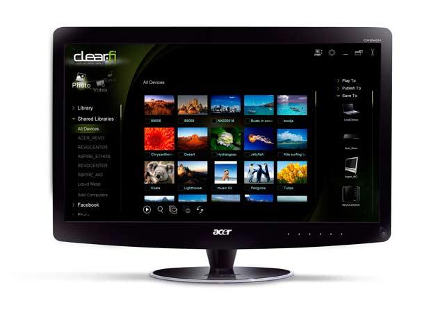 Acer HR274H , monitor HD con soporte para contenido 3D 29