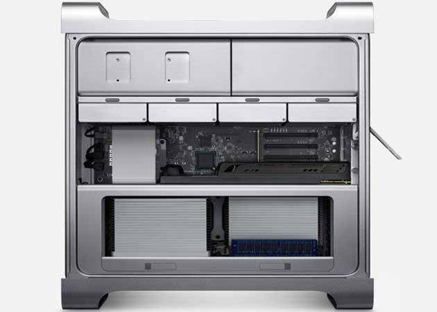 Mac Pro con gráficas Radeon 7000 y Xeon E5