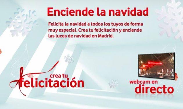 Luces de Navidad interactivas en Madrid, muestra tu mensaje gratis