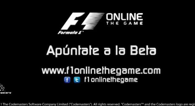 F1 Online: The Game -juego de navegador- comienza la fase prueba