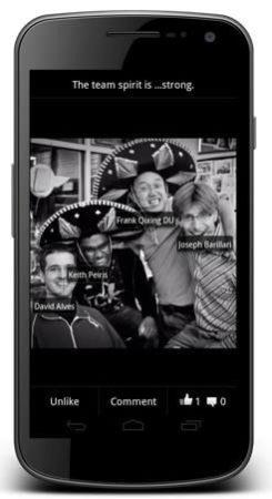 Facebook rediseña su aplicación para Android 31