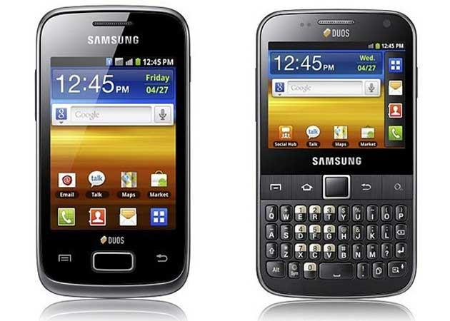 Samsung comercializa los nuevos smartphones Galaxy Y Duo