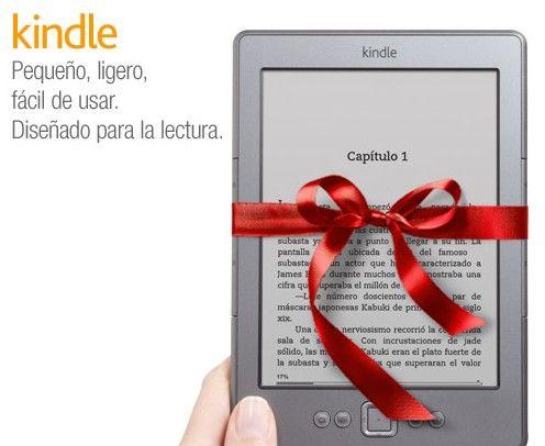 La tienda de eBooks Amazon llega oficialmente a España junto con Kindle