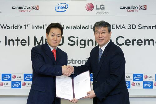 LG integrará WiDi en su próxima línea de pantallas