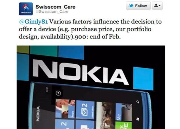 Nokia Lumia 900 llegará en febrero