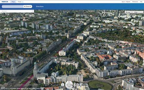 Nokia ofrece vista 3D fotorrealista en Nokia Maps