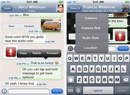 WhatsApp para iOS gratis por Navidad