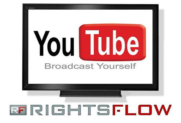 YouTube logo with RightsFlow logoYouTube adquiere Rightsflow para mejorar la gestión de derechos