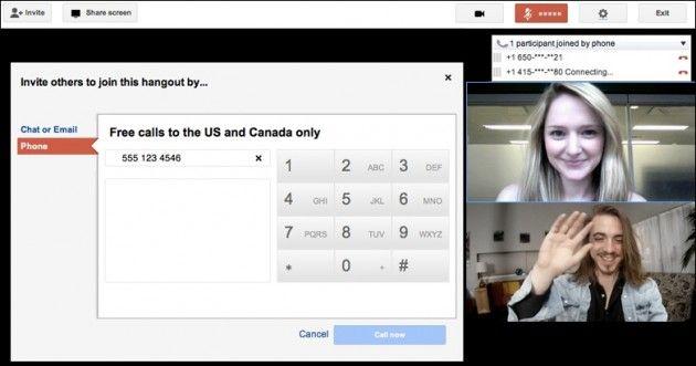 Las Quedadas en Google+ ya admiten usuarios por teléfono