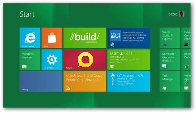 Microsoft lanzará la beta pública de Windows 8 en febrero 2012