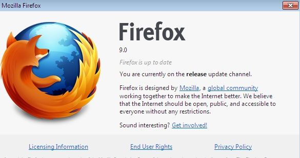 firefox 9 rc