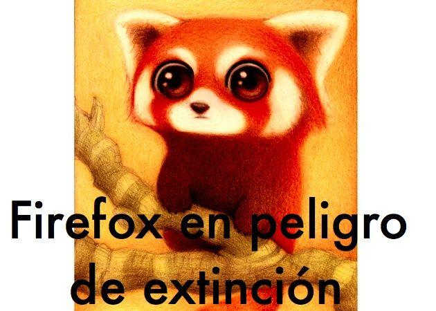 El futuro de Firefox en entredicho