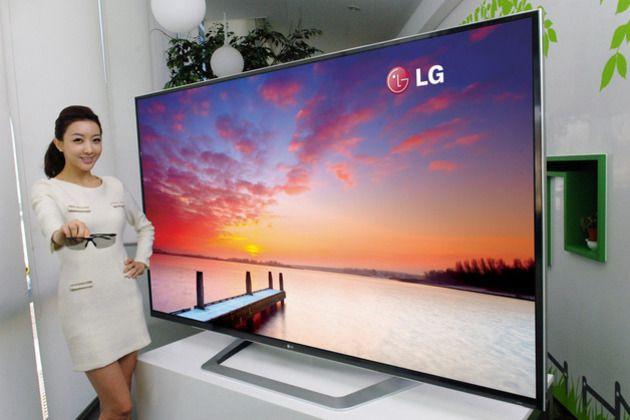 LG mostrará TV de 84 pulgadas 3D y resolución 4K en CES 2012
