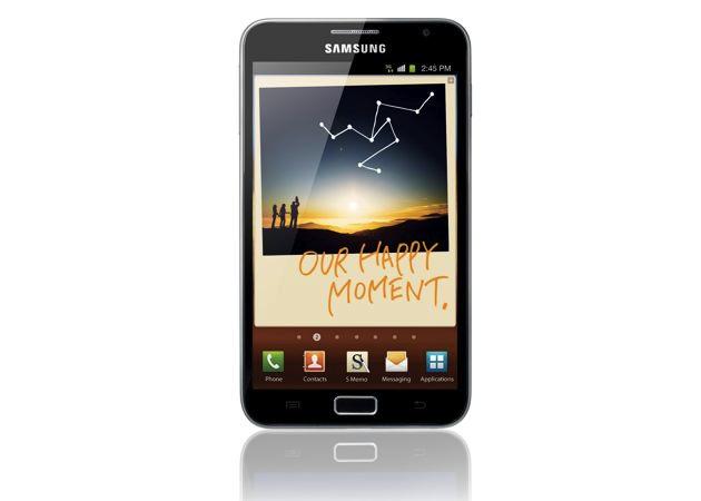 Samsung Galaxy Note sobrepasa el millón de unidades vendidas