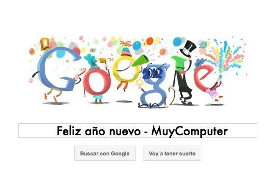 Google nos felicita la Nochevieja con un festivo Doodle 27
