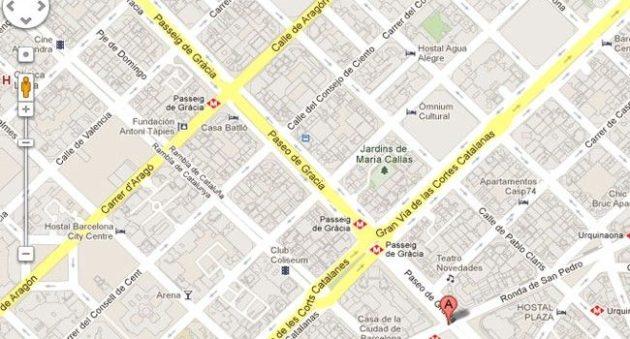 Barcelona reclama a Google Maps que use el nombre original de las calles