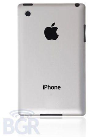 iPhone 5 llegará con pantalla de 4 pulgadas y parte trasera de aluminio