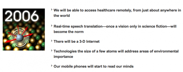 ibm 630x248 5 in 5 2011: IBM predice 5 hitos tecnológicos de los próximos 5 años