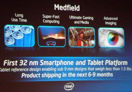 Intel listo para dar el salto a Android con sus chips Medfield 36