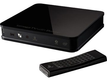 Iomega TV, reproductor multimedia con Boxee