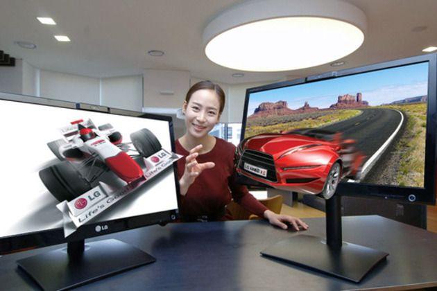 LG DX2500, monitor 3D sin gafas de 25 pulgadas