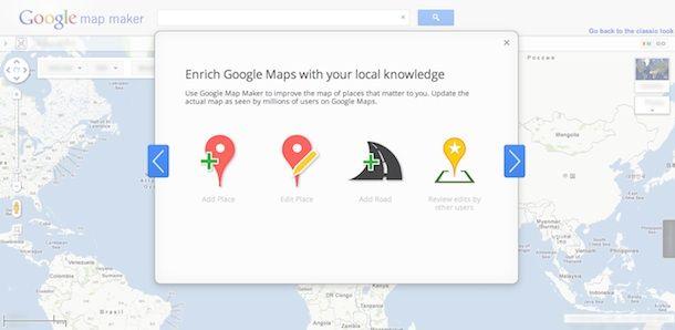 Google Maps ya permite la edición/actualización por parte de los usuarios