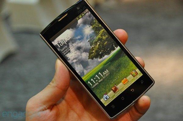 Smartphone ASUS Padfone con Tegra 3 el próximo año