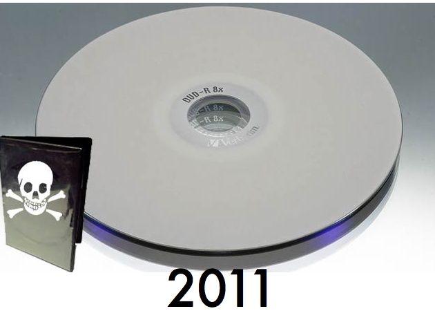 Las 10 películas más pirateadas de 2011 vía BitTorrent