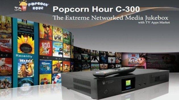 Popcorn Hour C-300, reproductor multimedia de gama alta