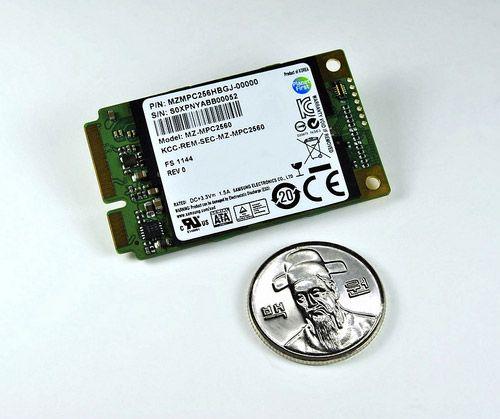 Samsung PM830, SSD alto rendimiento mSATA para ultrabooks