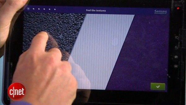El futuro de las pantallas táctiles: sensación de rugosidad y fricción (VIDEO)