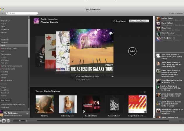 Spotify mejora su característica de Radio