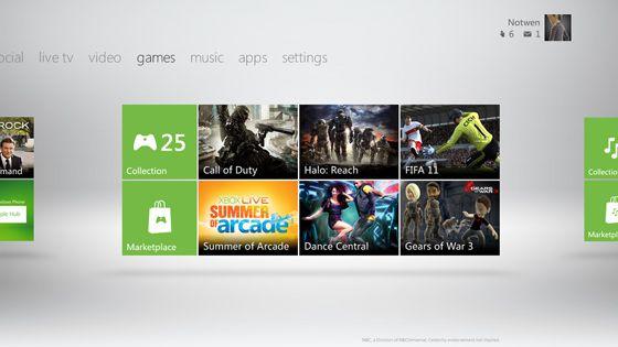 La Xbox 360 estrena nuevo Dashboard: Kinect y Metro al poder
