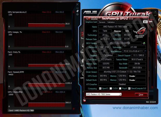 Se filtran las especificaciones de la gráfica Radeon HD 7950