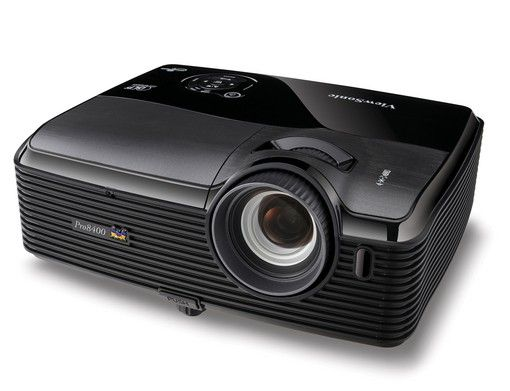 ViewSonic Pro8400, HD a plena luz