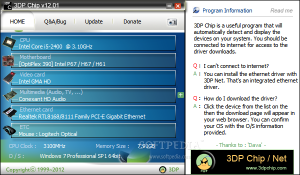 3DP Chip, mantén al día tus drivers en Windows
