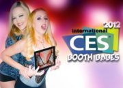 Booth babes CES 2012