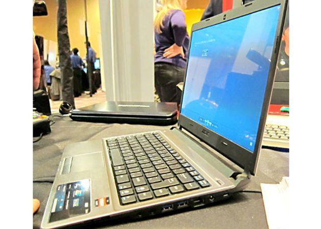 [CES 2012] AMD muestra su propio ultrabook bajo APU Trinity