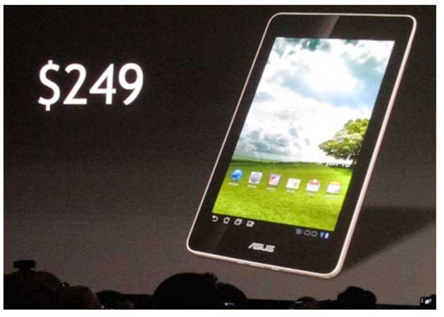 ASUSTablet [CES 2012] ASUS romperá el mercado con un tablet Tegra 3 a 249 dólares