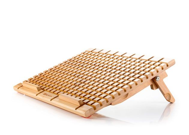 Zignum Bamboo, bases para portátiles de bambú