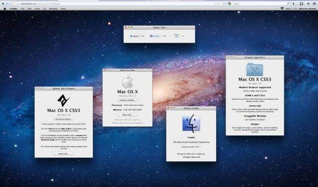 Prueba Mac OS X Lion en tu navegador